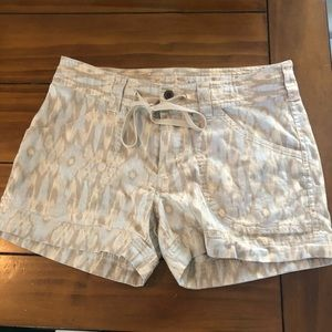 Patagonia women's printed soft hiking shorts